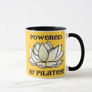 Powered By Pilates Lotus Mug
