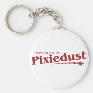 Powered by Pixiedust Keychain