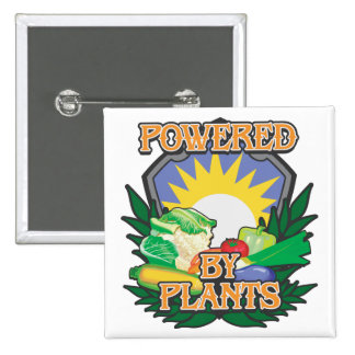 Powered by Plants Pin