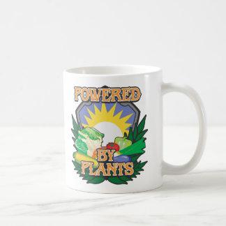 Powered by Plants Classic White Coffee Mug