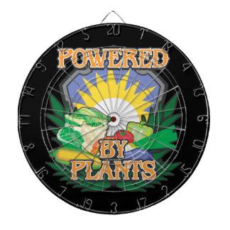 Powered by Plants Dart Board