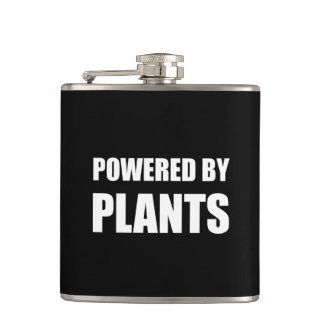 Powered By Plants Hip Flask
