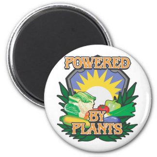 Powered by Plants Fridge Magnet