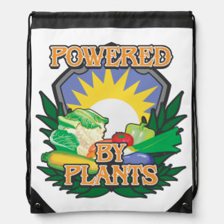 Powered by Plants Cinch Bag
