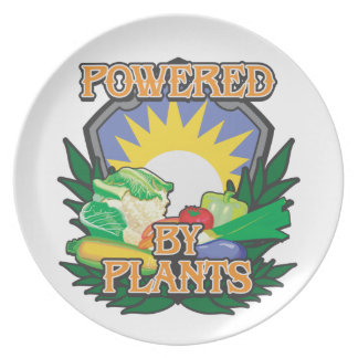 Powered by Plants Plate