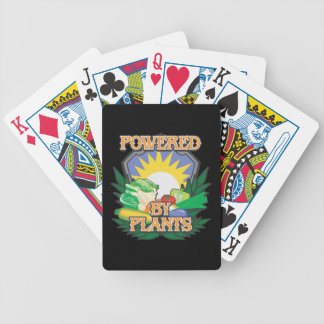 Powered by Plants Bicycle Playing Cards