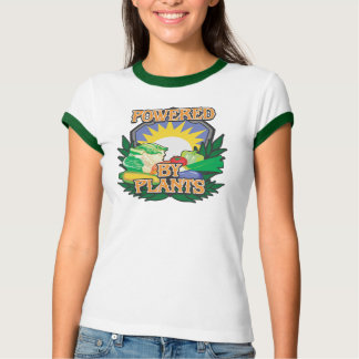 Powered by Plants Tee Shirt