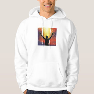 Powered By Prayer hooded shirt