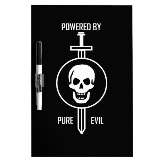 Powered by Pure Evil Dry-Erase Whiteboards