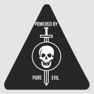 Powered by Pure Evil Stickers