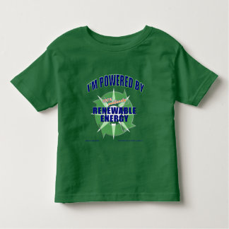 Powered by Renewable Energy Toddler T-shirt