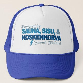 Powered by Sauna, Sisu & Kossu hat