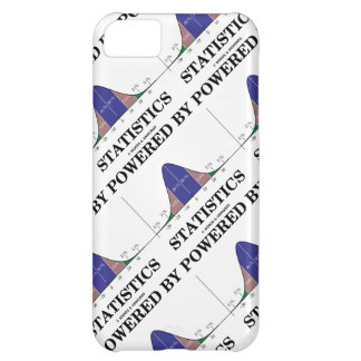 Powered By Statistics (Bell Curve Humor) iPhone 5C Cases