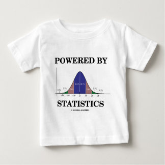 Powered By Statistics (Stats Humor) Tee Shirt