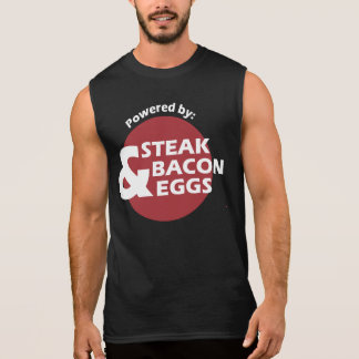 Powered by Steak, Bacon and Eggs - Shirt