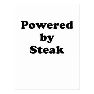 Powered by Steak Postcard