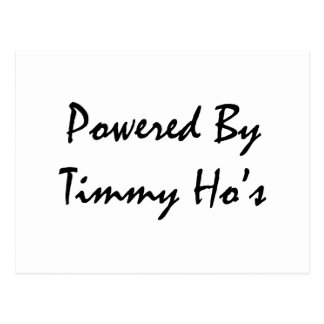 Powered by tims postcard