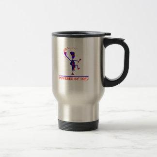 Powered By Tofu Coffee Mugs