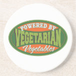 Powered by Vegetables Beverage Coasters