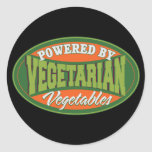Powered by Vegetables Stickers