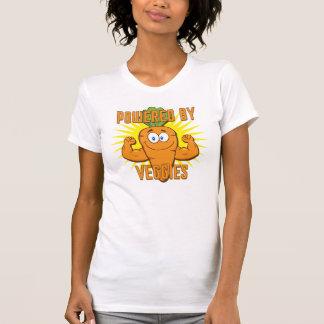 Powered By Veggies T Shirt