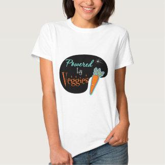 Powered by Veggies T Shirts
