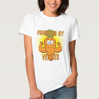 Powered By Veggies Tee Shirt