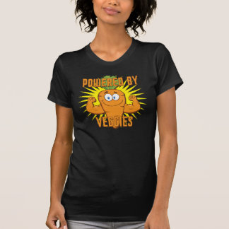 Powered By Veggies Tshirt