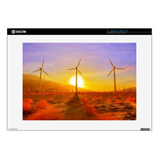 "Powered by Wind 15"" Laptop Skin"