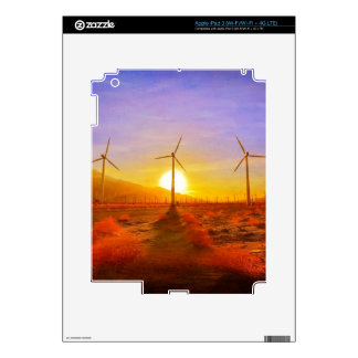 Powered by Wind iPad 3 Skins