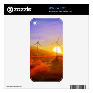Powered by Wind iPhone 4S Decal