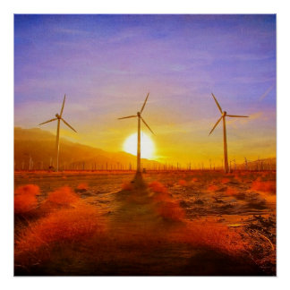 Powered by Wind Print