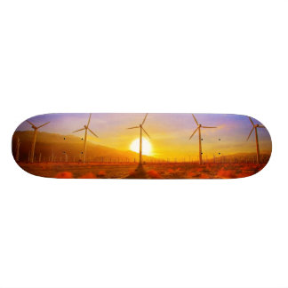 Powered by Wind Skateboard Deck