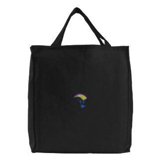 Powered Parachute Embroidered Tote Bags