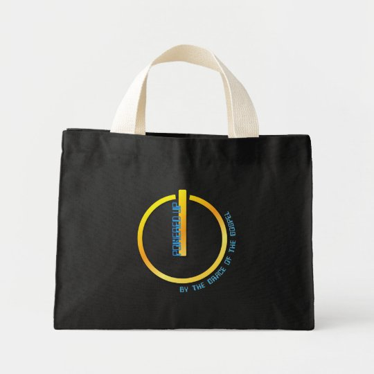 Powered Up (by the grace of the Gospel) Mini Tote Bag