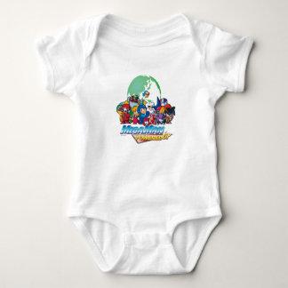 Powered Up World Baby Bodysuit