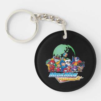 Powered Up World Keychain