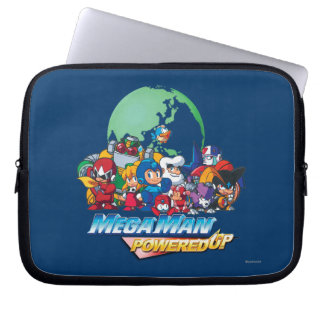 Powered Up World Laptop Computer Sleeves