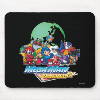 Powered Up World Mouse Pad