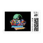 Powered Up World Stamps