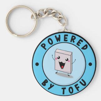 Powered village Tofu Keychain