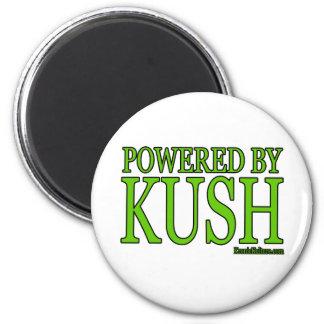 PoweredByKush 2 Inch Round Magnet