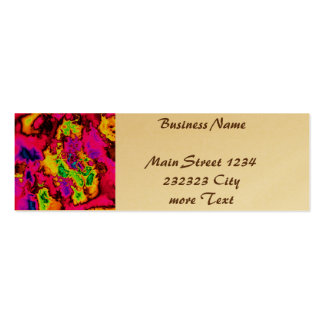 powerfractal 01 (SF) Double-Sided Mini Business Cards (Pack Of 20)