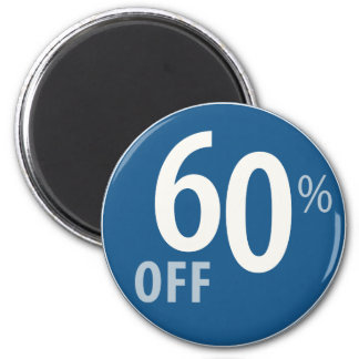 Powerful 60% OFF SALE Sign - Magnets