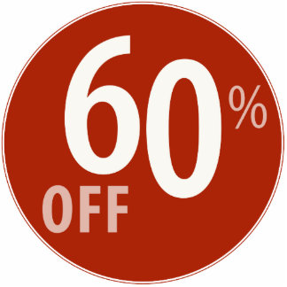 Powerful 60% OFF SALE Sign - Ornament