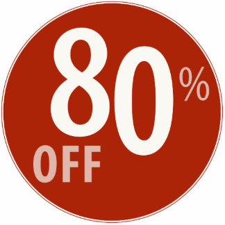 Powerful 80% OFF SALE Sign - Ornament