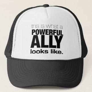 POWERFUL ALLY TRUCKER HAT