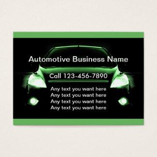 Powerful Auto Repair Business Card