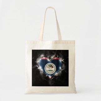 Powerful Belize Tote Bag
