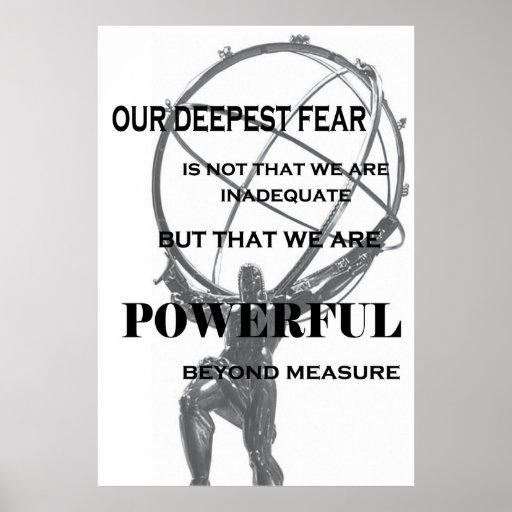 Powerful Beyond Measure Print